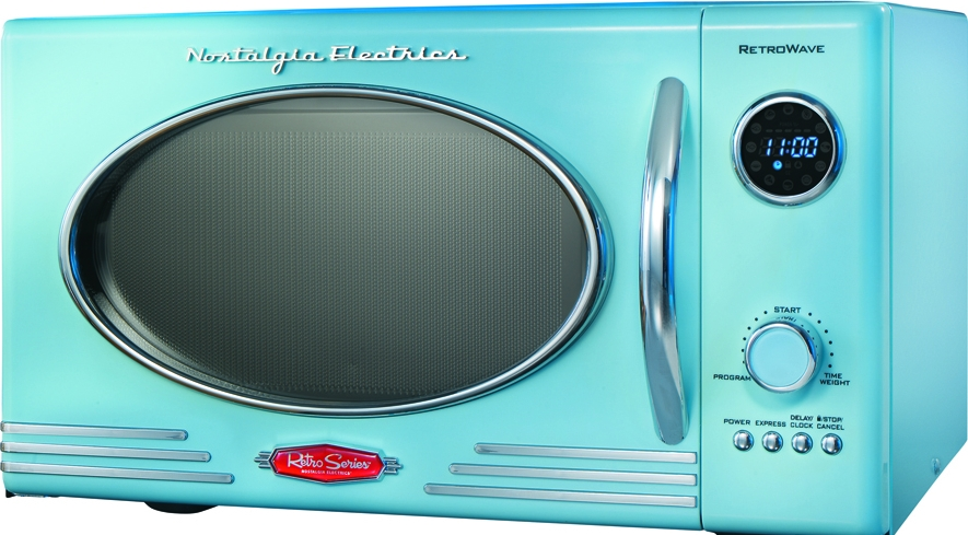 Microwave Nostalgia Electrics Rmo400blue Reviews Prices And Compare