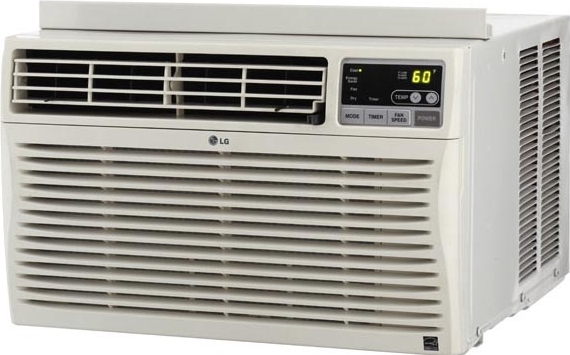 Lg lw8011er thru wall window air conditioner for 12 x 19 window air conditioner